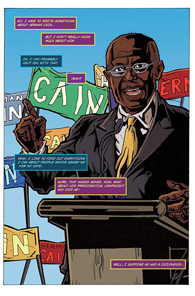 click for super-sized previews of Political Power: Herman Cain