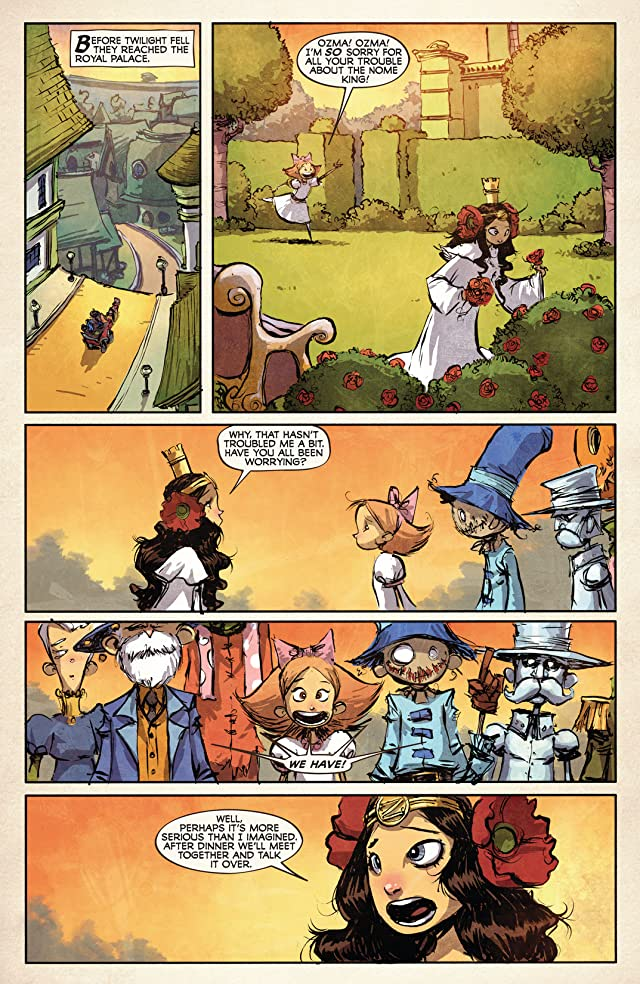 click for super-sized previews of The Emerald City of Oz #5