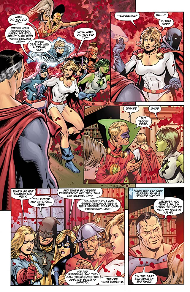 click for super-sized previews of Justice Society of America (2007-2011) #20