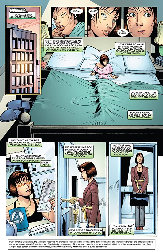 click for super-sized previews of She-Hulk (2005-2009) #19