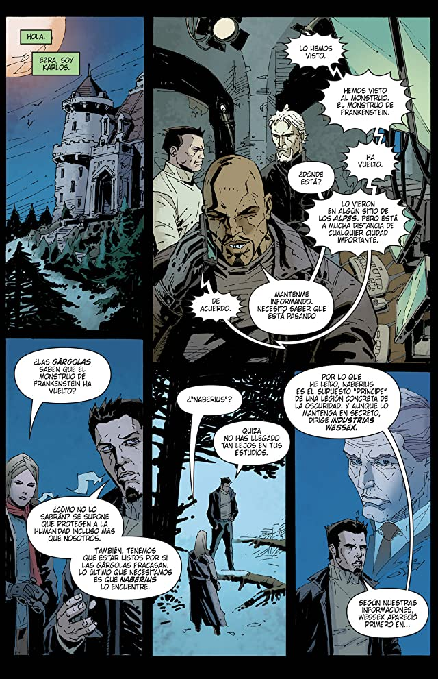 click for super-sized previews of Yo, Frankenstein: Genesis #1