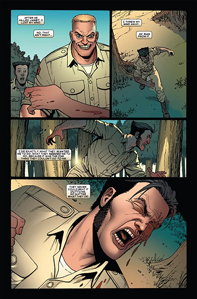 click for super-sized previews of Wolverine: Origins #17