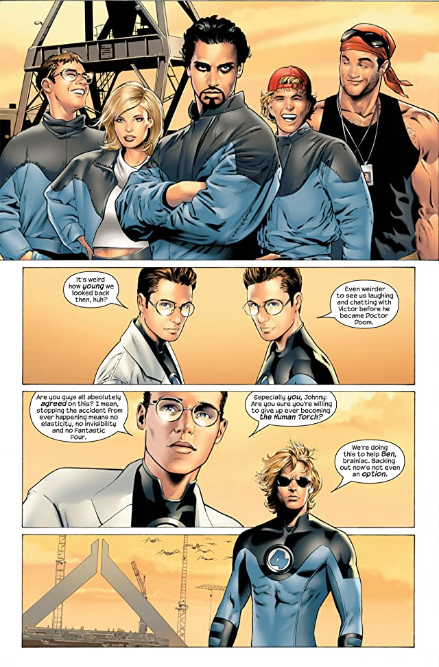 click for super-sized previews of Ultimate Fantastic Four #27