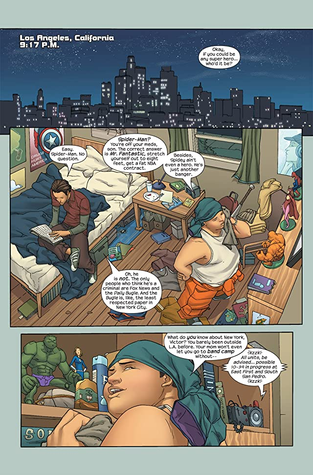 click for super-sized previews of Runaways (2005-2008) #1