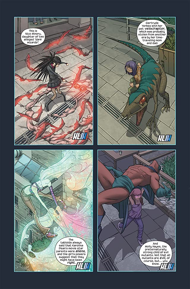 click for super-sized previews of Runaways (2005-2008) #2