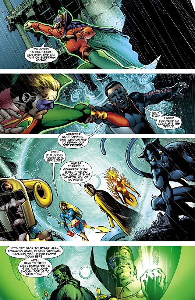 click for super-sized previews of Blackest Night: JSA #3