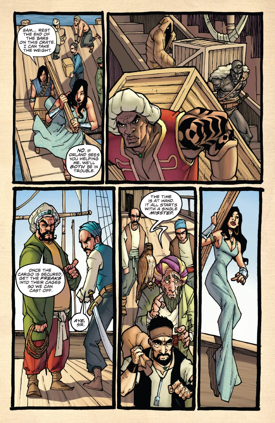 1001 Arabian Nights: The Adventures of Sinbad #0
