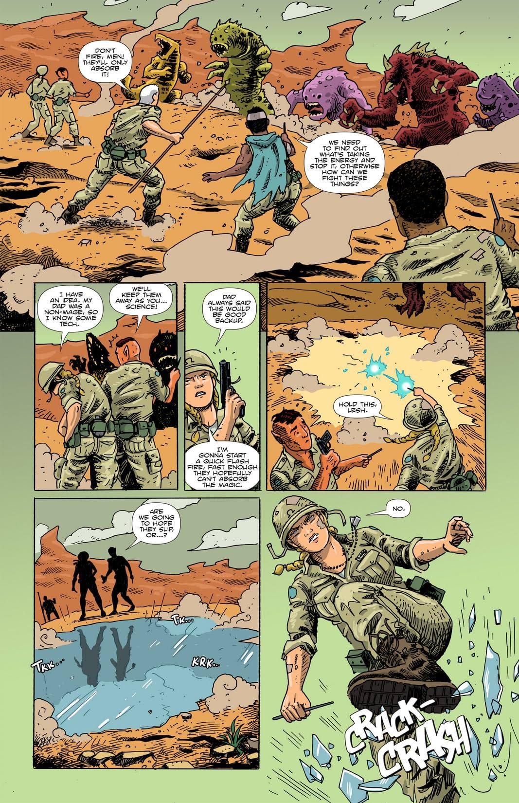 Amelia Cole #12: Hidden War Part 6