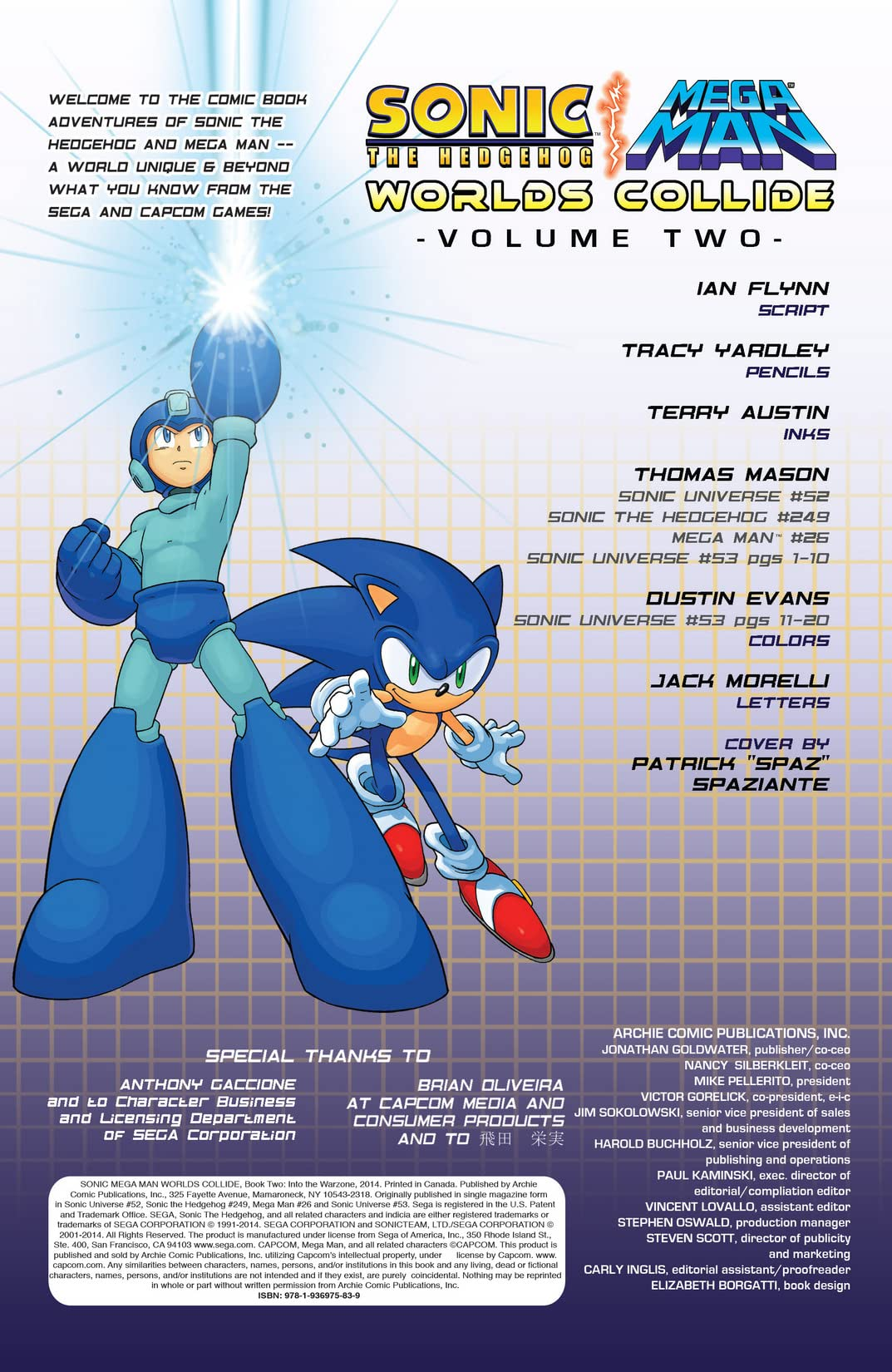 Sonic the Hedgehog/Mega Man: Worlds Collide Vol. 2