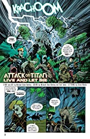 Attack on Titan Anthology FCBD Sampler Vol. 1