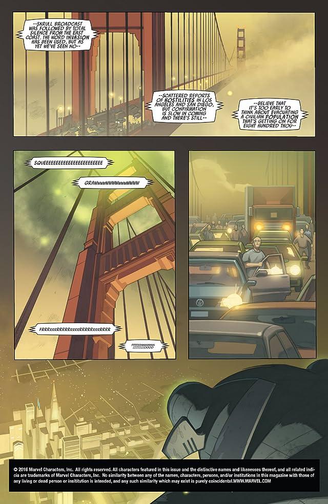 Secret Invasion: X-Men #1 (of 4)