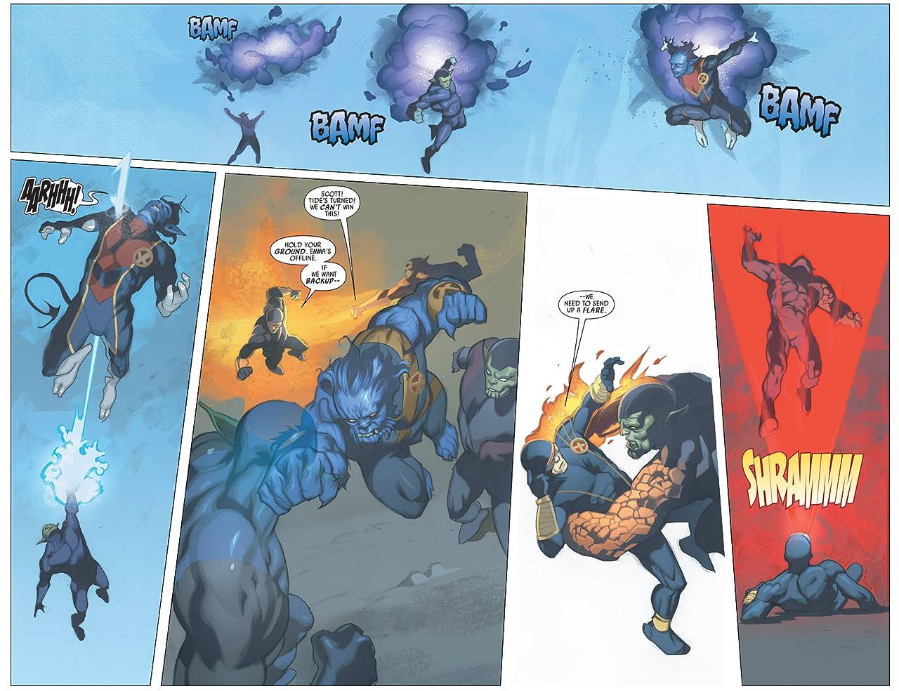 Secret Invasion: X-Men #2 (of 4)