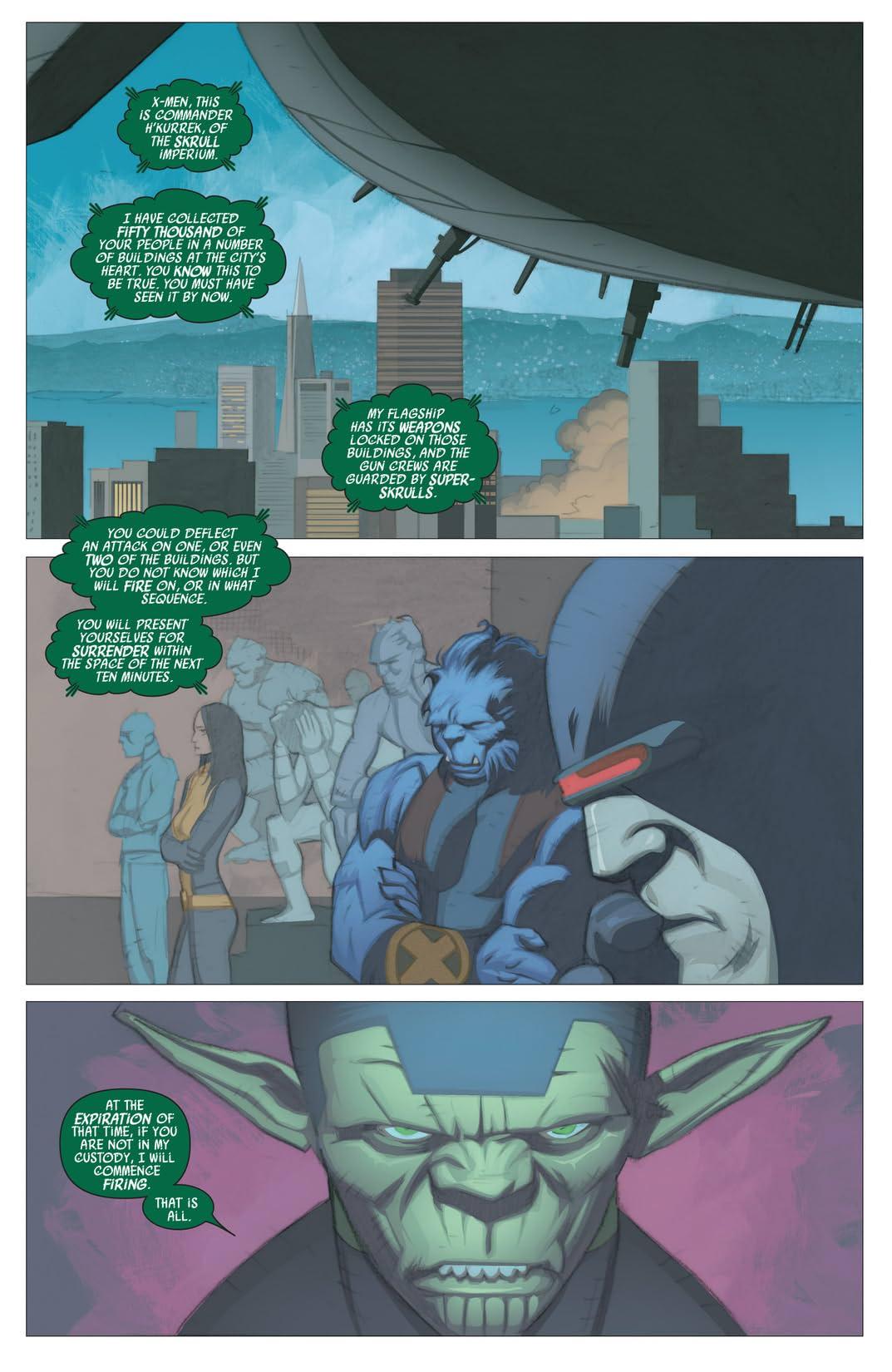 Secret Invasion: X-Men #4 (of 4)