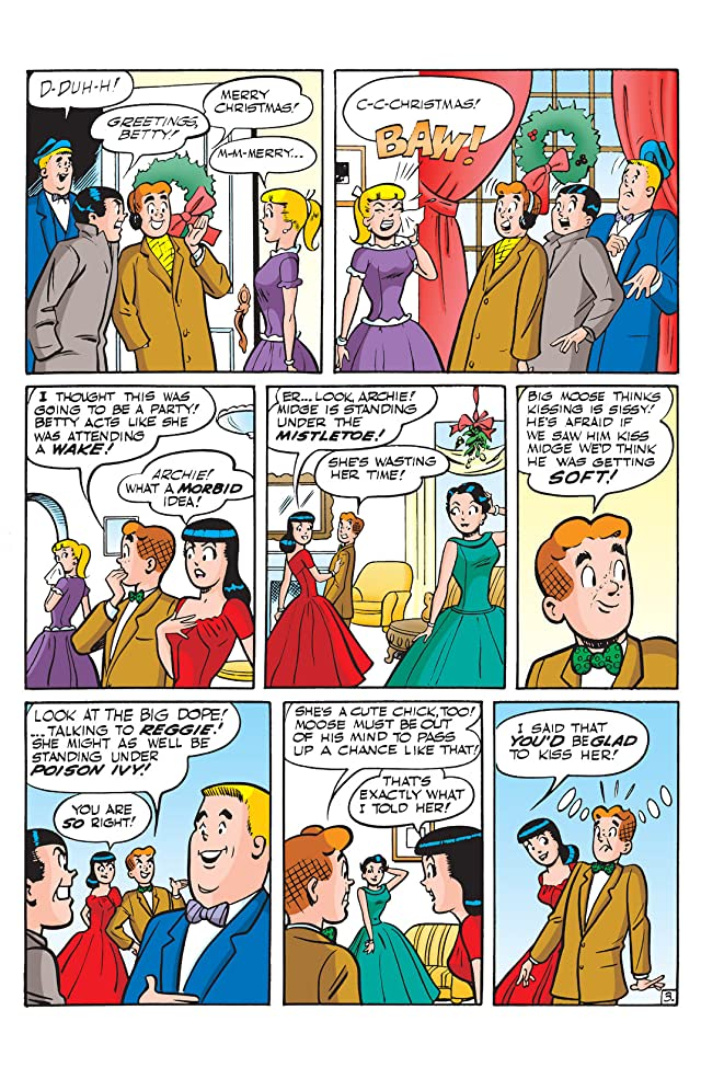 click for super-sized previews of Betty & Veronica: Under the Mistletoe