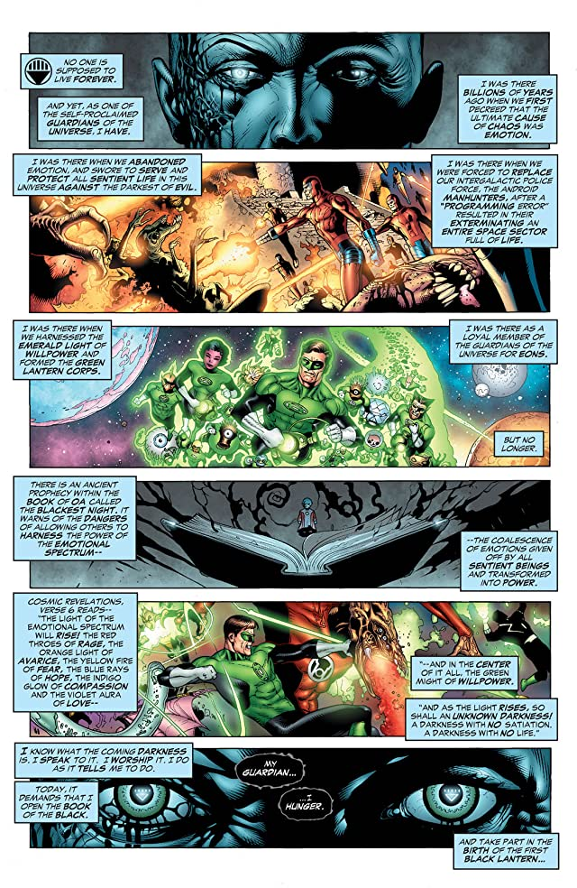 click for super-sized previews of Blackest Night: Green Lantern