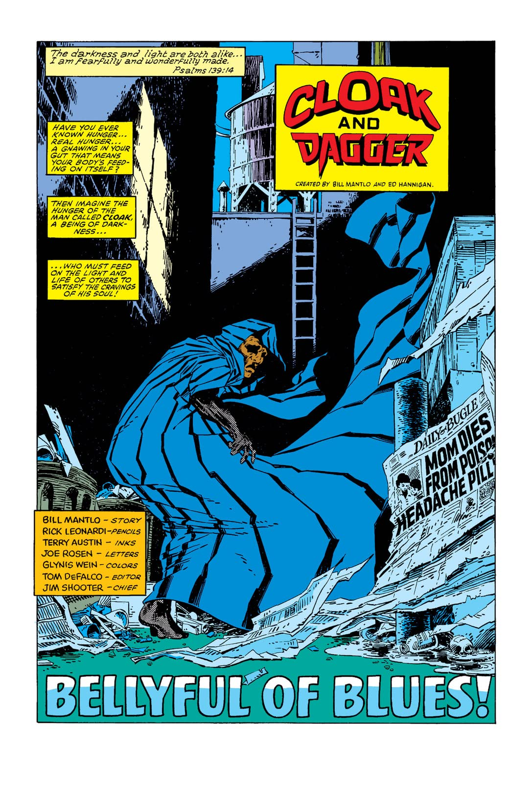 Cloak and Dagger (1983) #2 (of 4)
