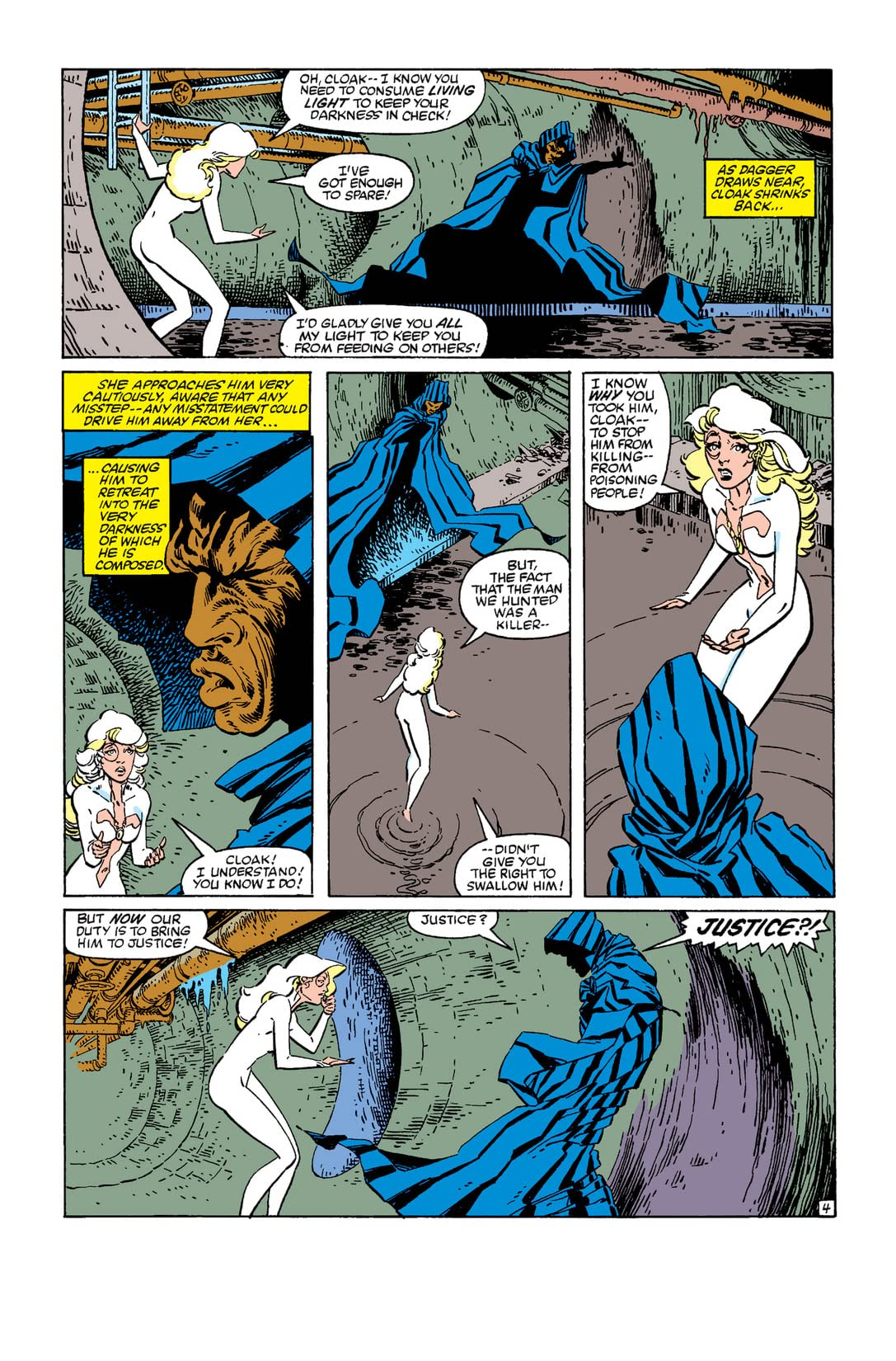 Cloak and Dagger (1983) #3 (of 4)