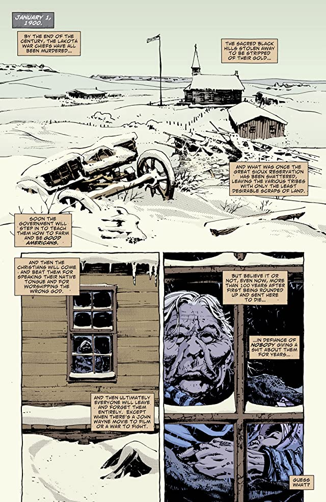 click for super-sized previews of Scalped Vol. 5: High Lonesome