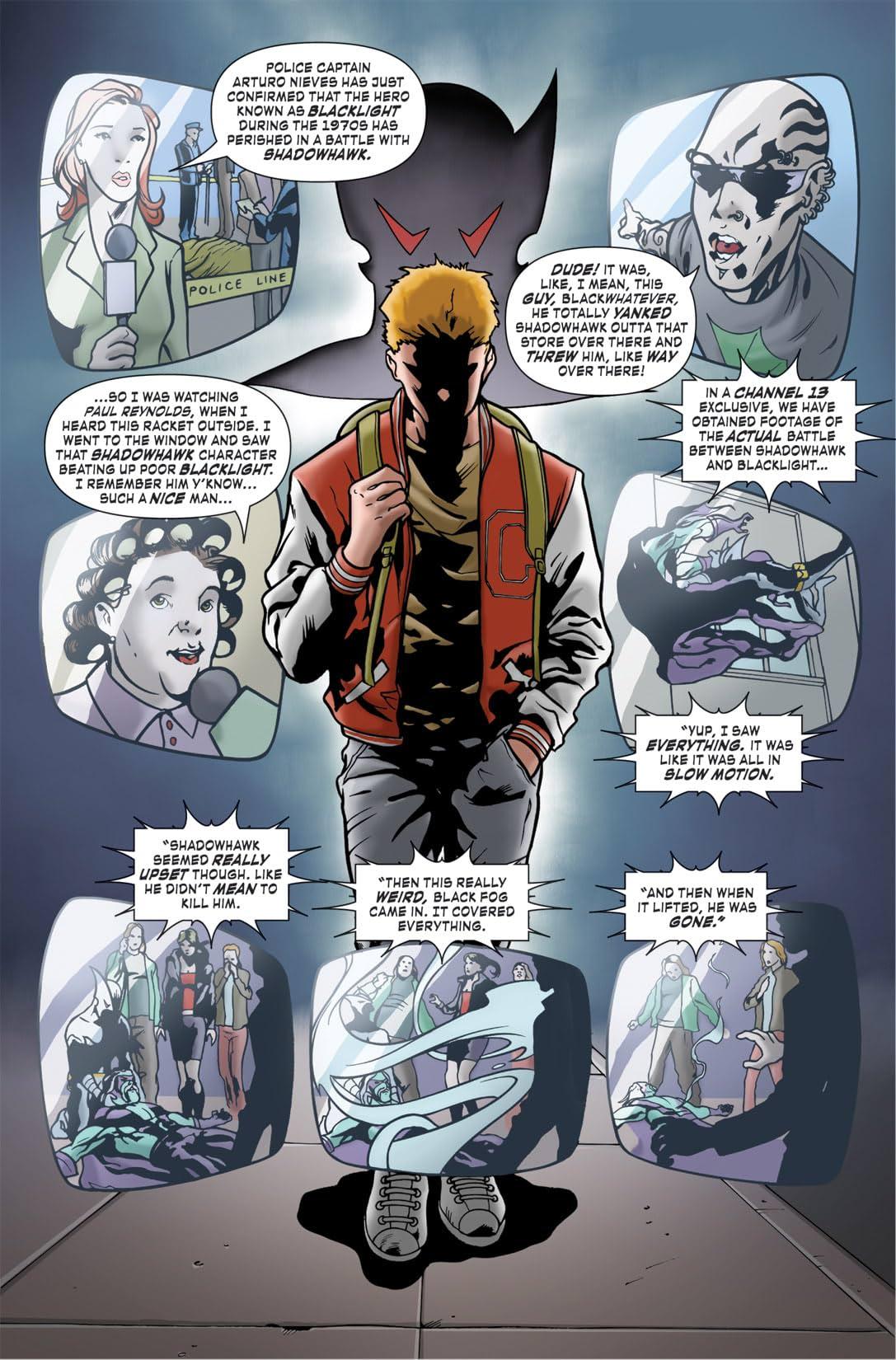 Shadowhawk #2