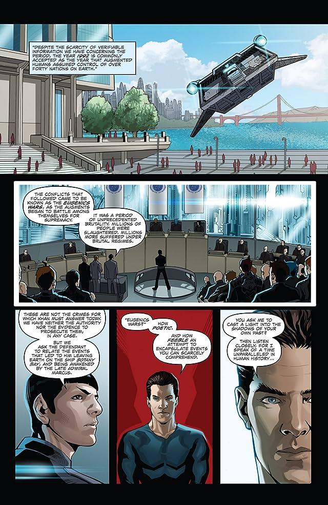 click for super-sized previews of Star Trek: Khan #3