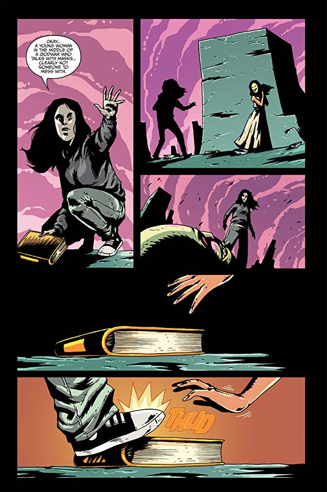 click for super-sized previews of Fall of Cthulhu Vol. 5: Apocalypse #3