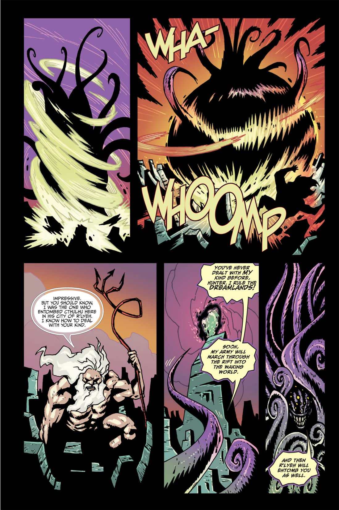 Fall of Cthulhu Vol. 5: Apocalypse #2 (of 4)
