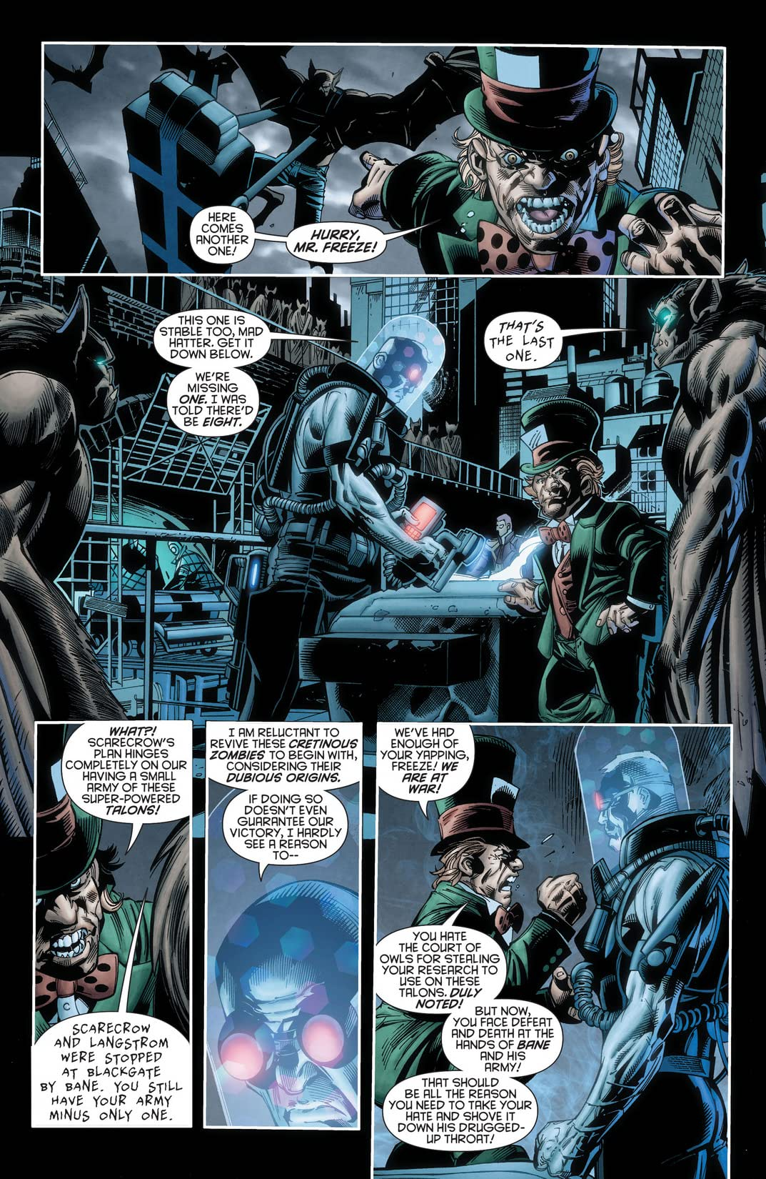 Forever Evil: Arkham War (2013-2014) #3 (of 6)