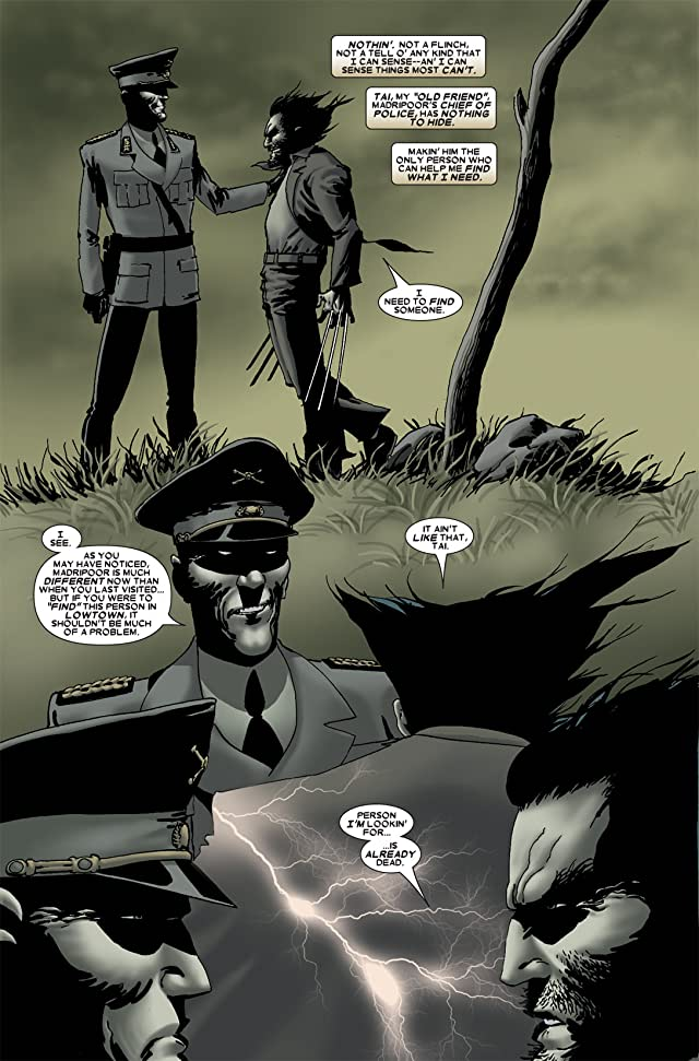 click for super-sized previews of Wolverine: Origins Annual #1