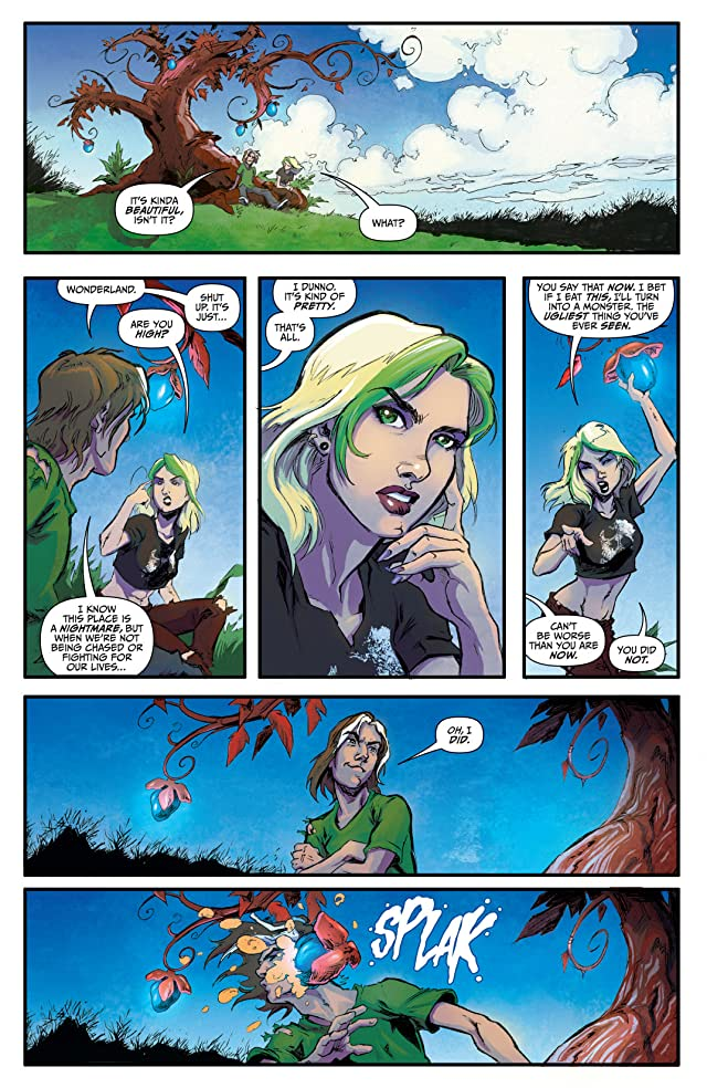 click for super-sized previews of Wonderland: Through the Looking Glass #4