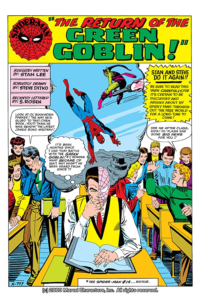 click for super-sized previews of Amazing Spider-Man (1963-1998) #17