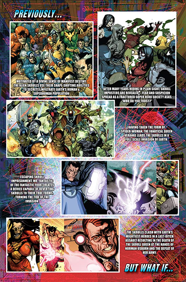 click for super-sized previews of What If? Secret Invasion #1