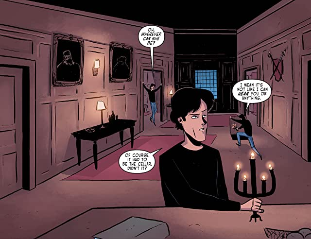 click for super-sized previews of The Vampire Diaries #4