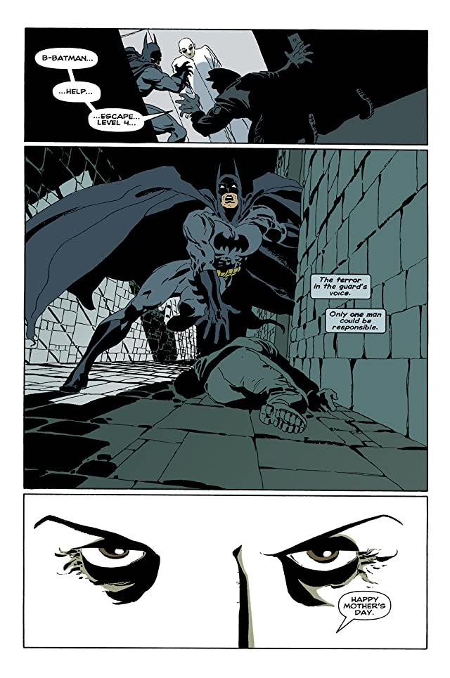 click for super-sized previews of Batman: The Long Halloween #8