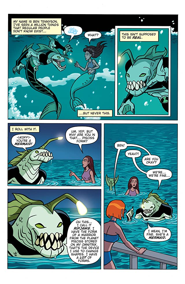 click for super-sized previews of Ben 10 #2