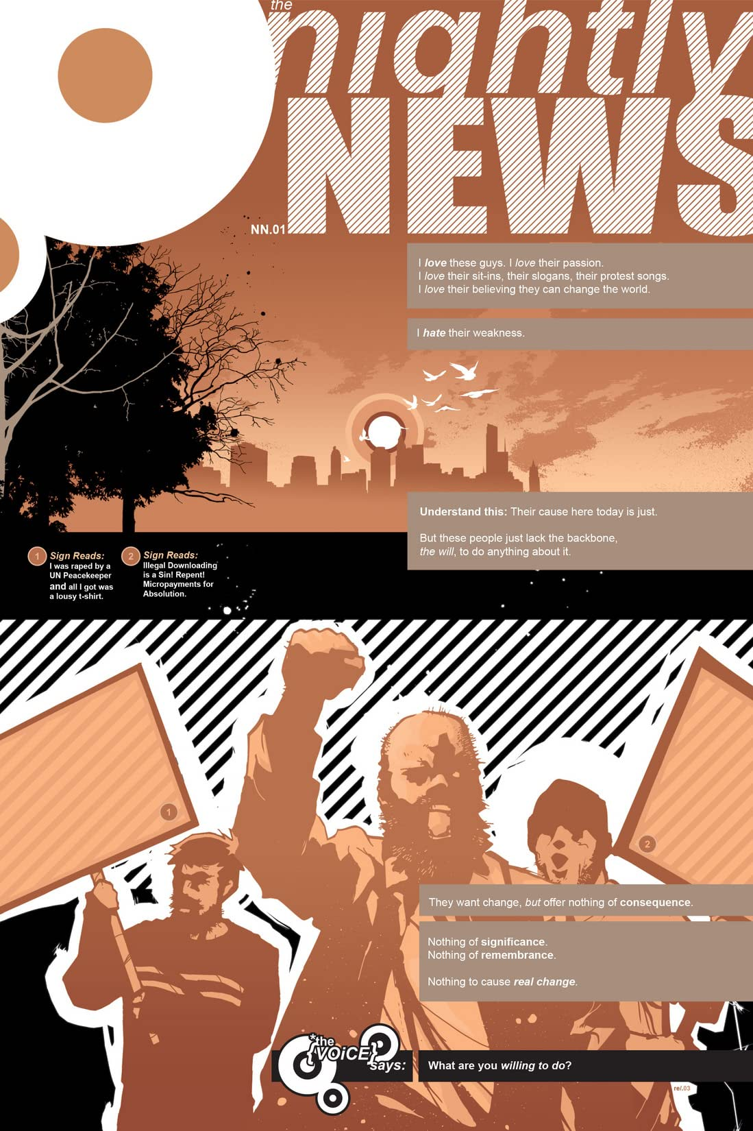 The Nightly News Vol. 1