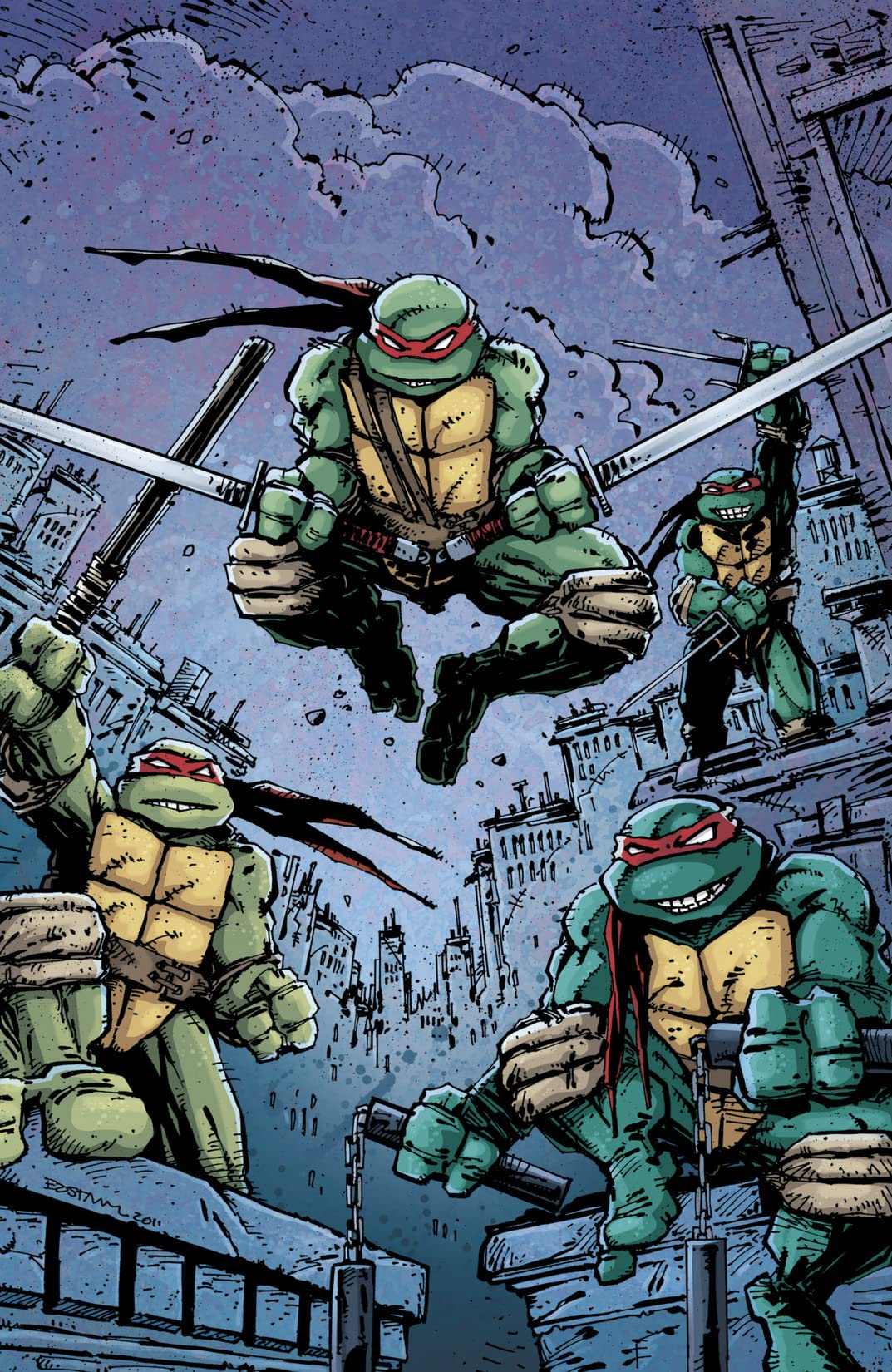 Teenage Mutant Ninja Turtles: Kevin Eastman Cover Gallery