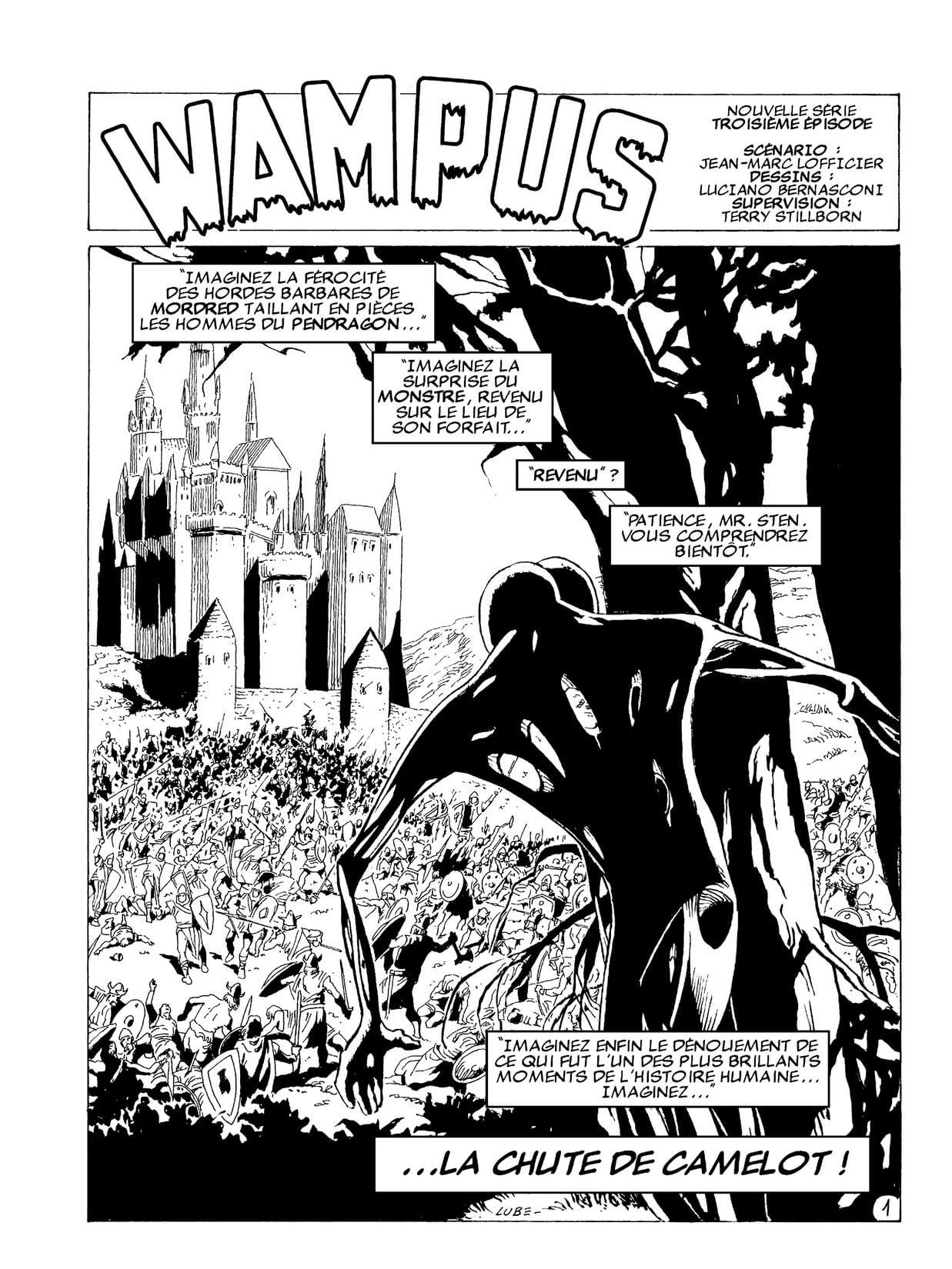 WAMPUS Vol. 9: Sous le Signe de Rome