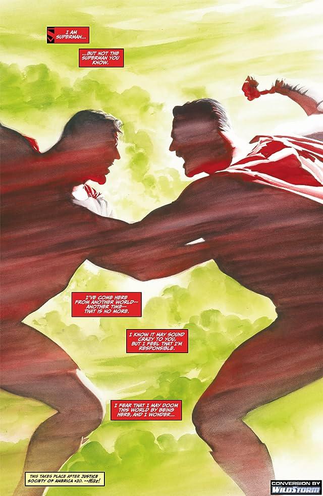 click for super-sized previews of JSA Kingdom Come: Superman