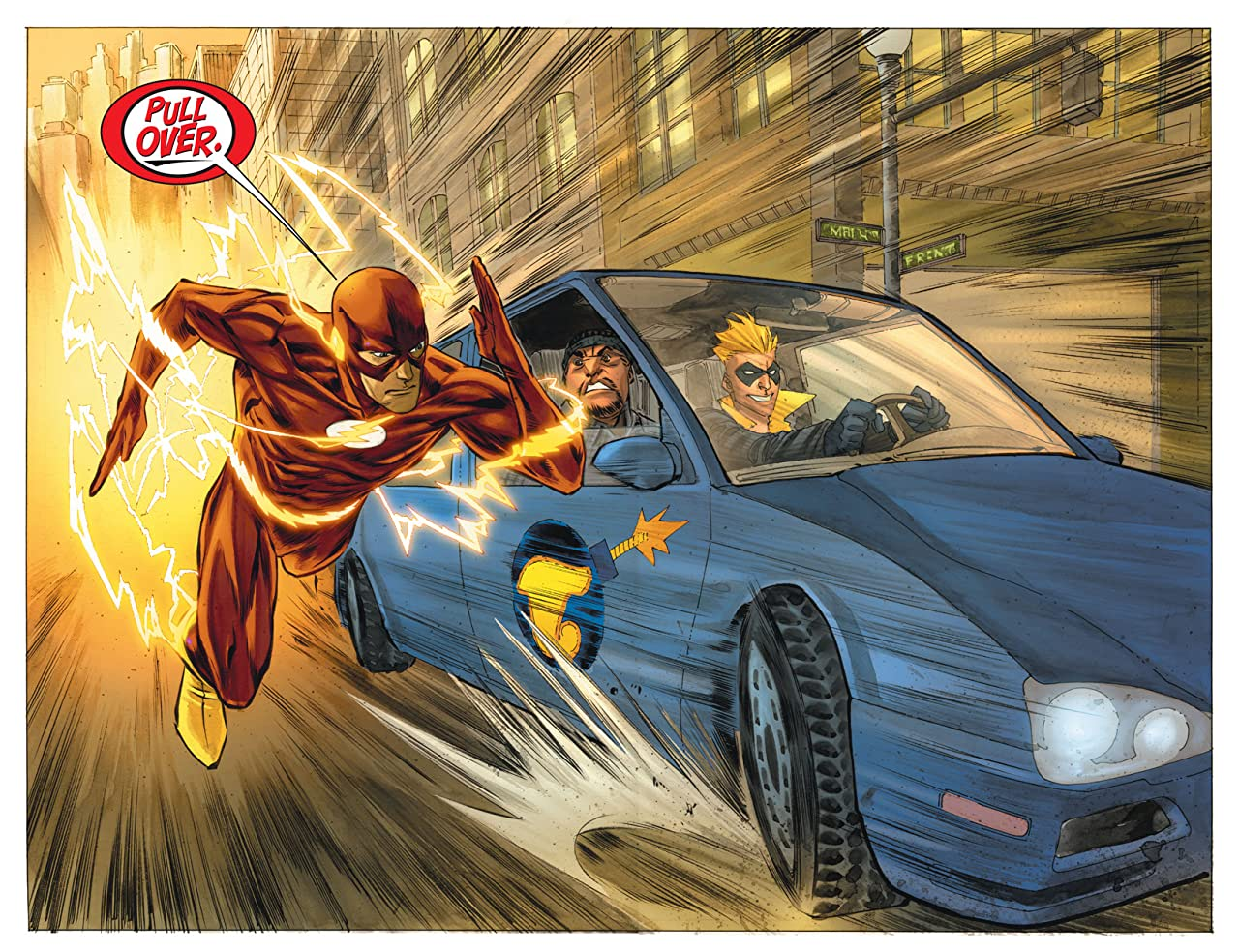 The Flash (2010-2011) Vol. 1: The Dastardly Death of the Rogues