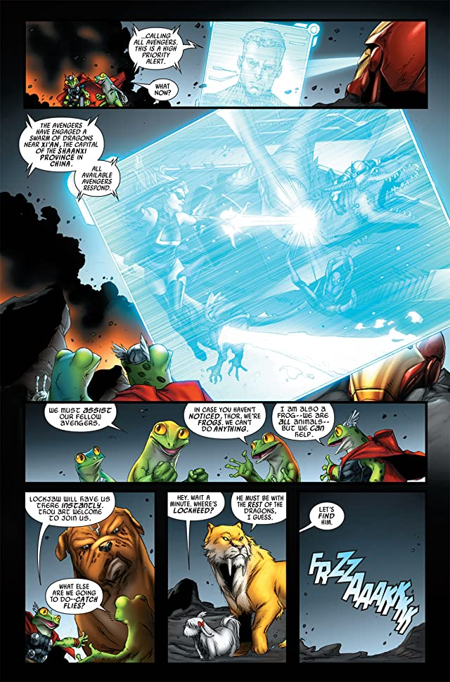 click for super-sized previews of Avengers vs. Pet Avengers #2 (of 4)