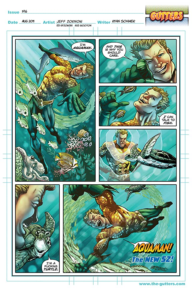 click for super-sized previews of Gutters #9