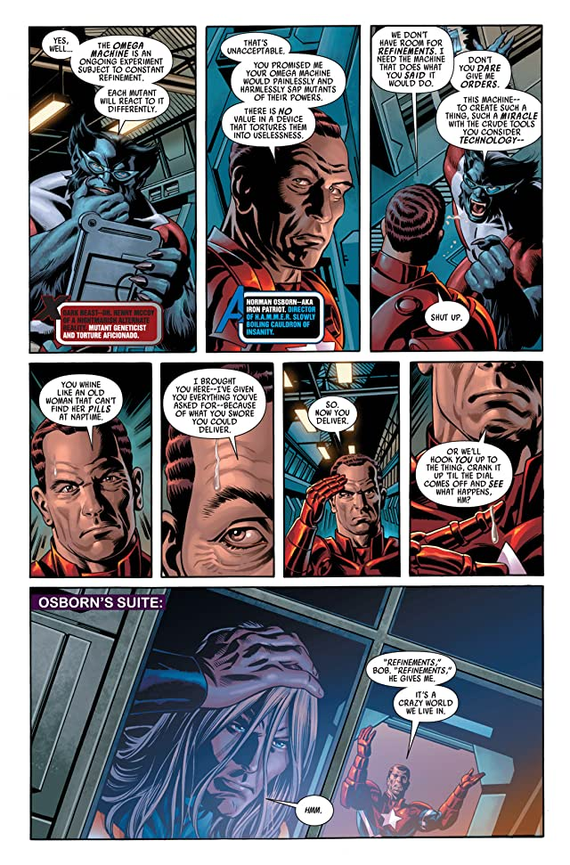 click for super-sized previews of Dark Avengers #7