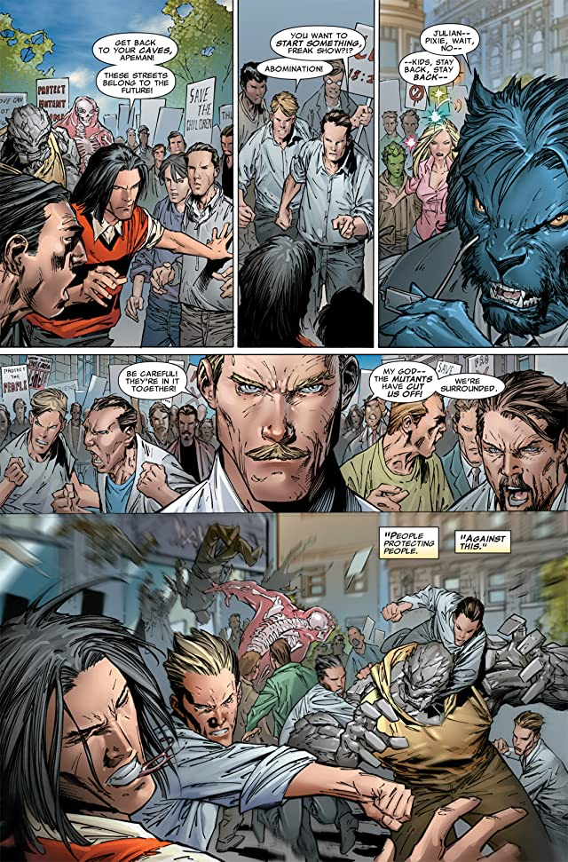 click for super-sized previews of Dark Avengers/Uncanny X-Men: Utopia #1