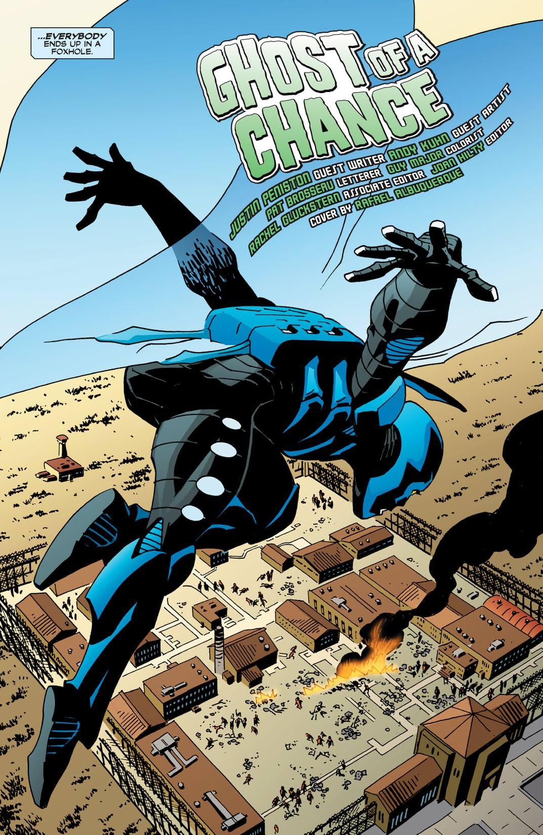 Blue Beetle (2006-2009) #21