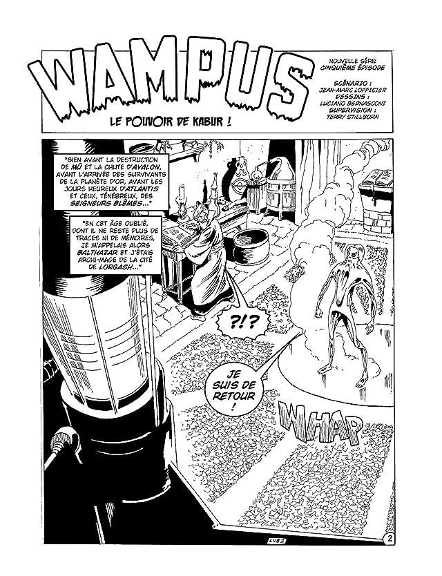 click for super-sized previews of WAMPUS Vol. 10: Le Pouvoir de Kabur