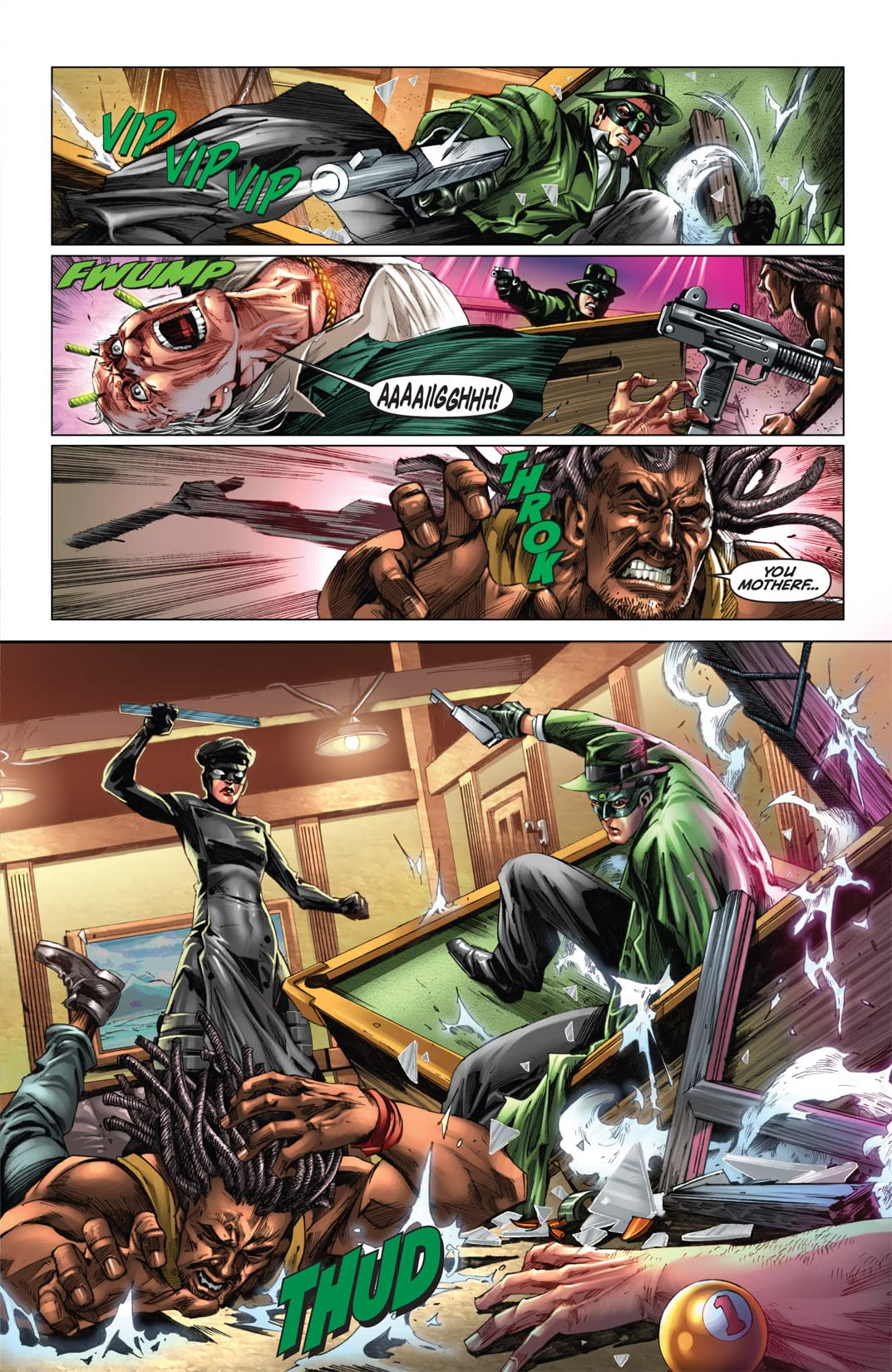 Kevin Smith's Green Hornet #5