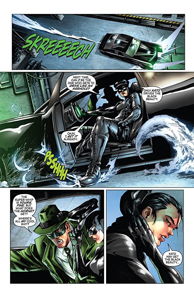 Kevin Smith's Green Hornet #6