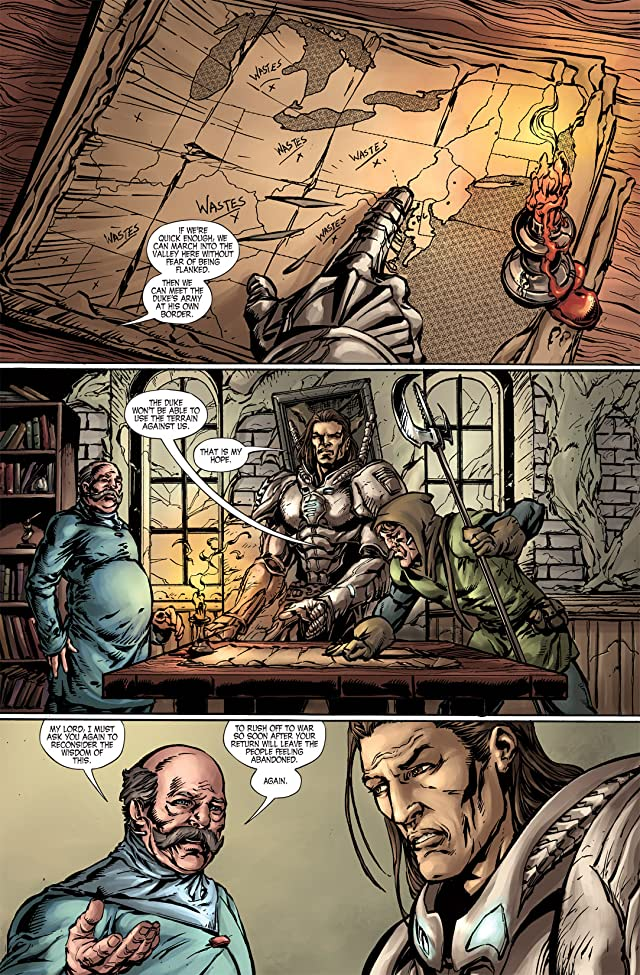 Last Reign: Kings of War #4 (of 5)