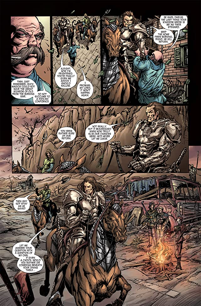 click for super-sized previews of Last Reign: Kings of War #4