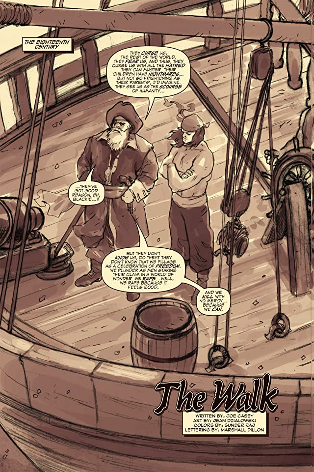 click for super-sized previews of Pirate Tales #2